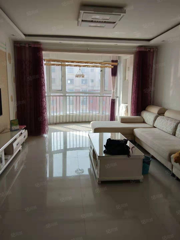 利津金桥花园97平米,2卧室,精装修,带储藏室,楼层好
