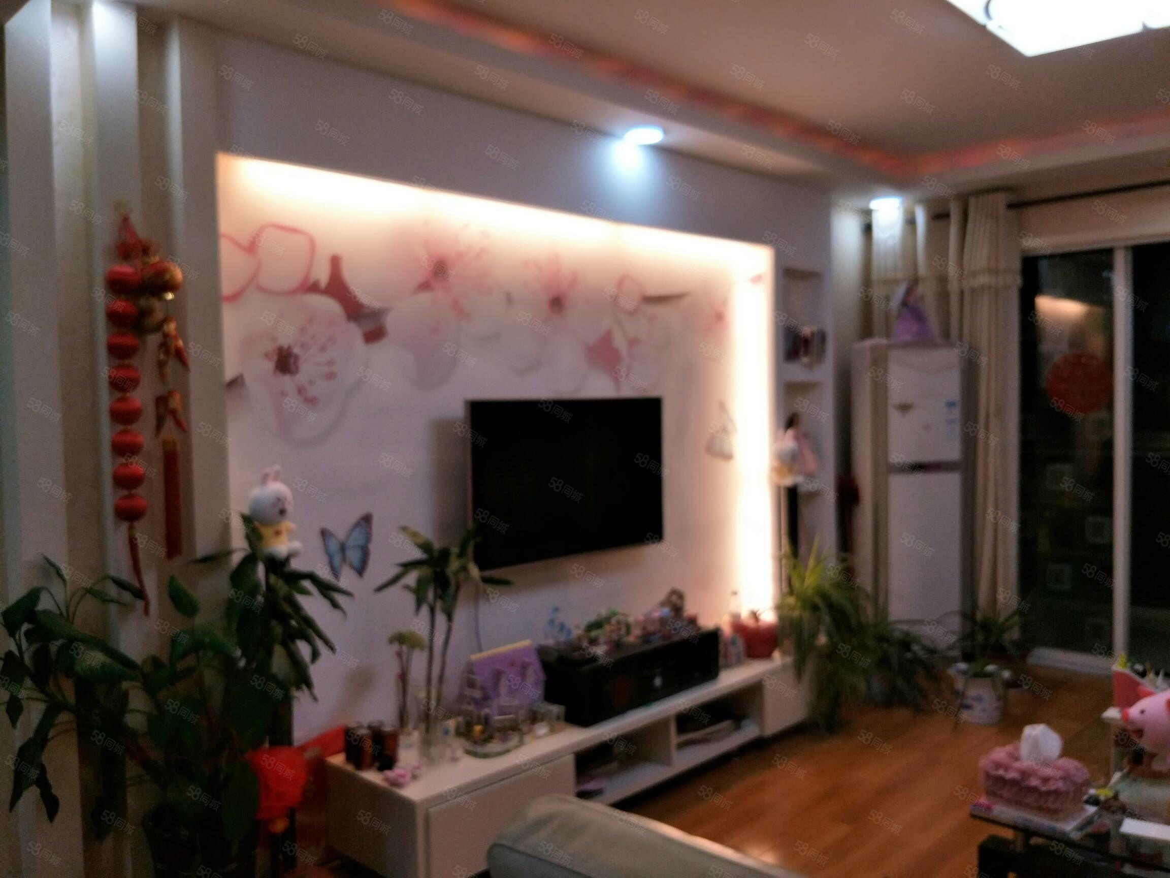 陽光城三室兩廳123平米精裝修4樓117萬