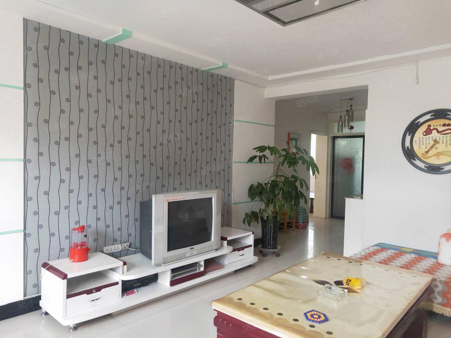 鑫发家园2楼94平米2室2厅精装修可按揭可改做3室,