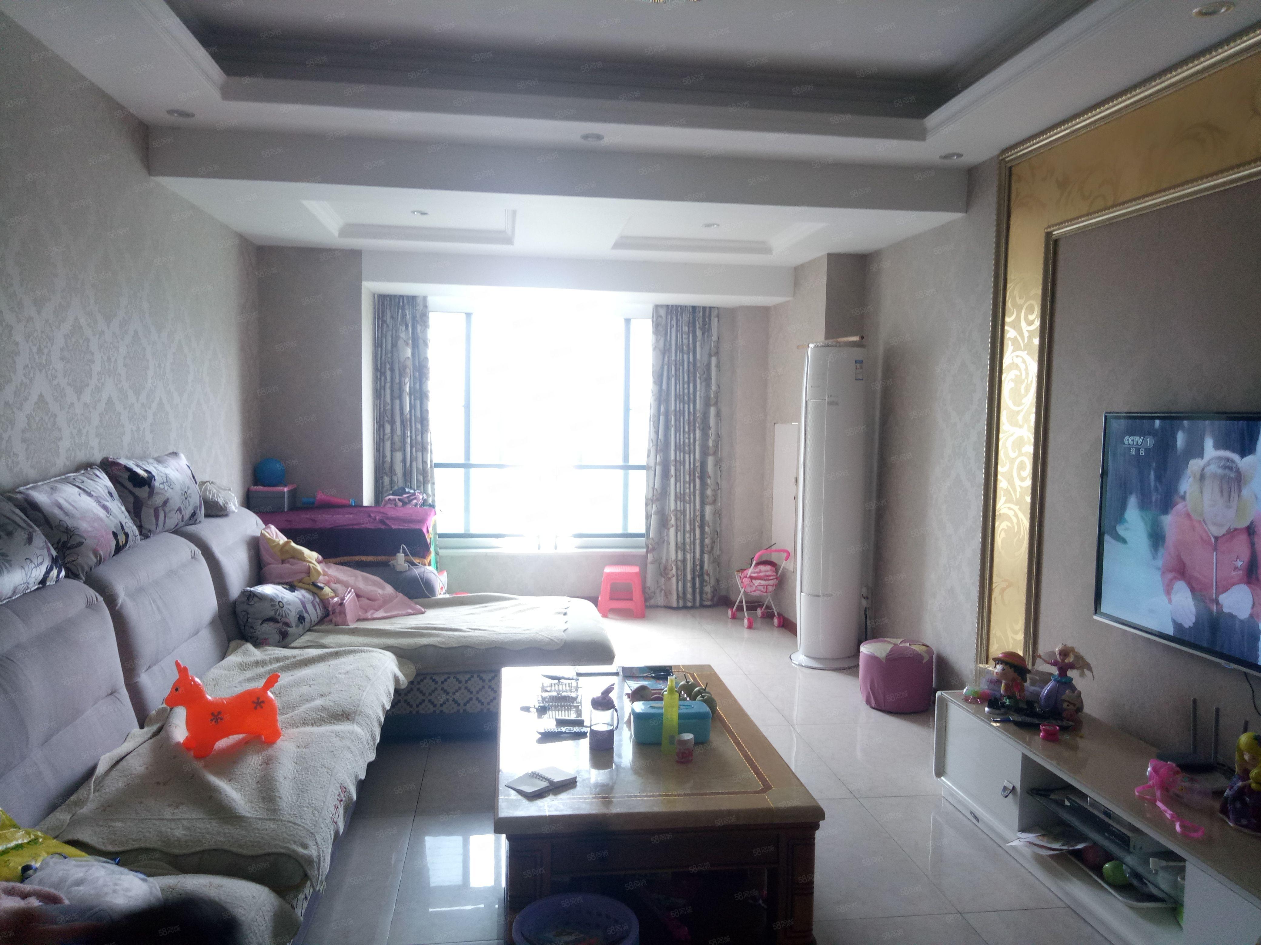 海怡江山江景房精装正规3室2厅2卫家电齐全110m采光好