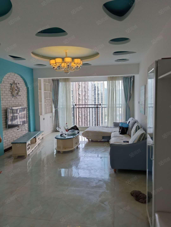大商匯B3組團2室2廳2衛帶家具家電拎包入住出租
