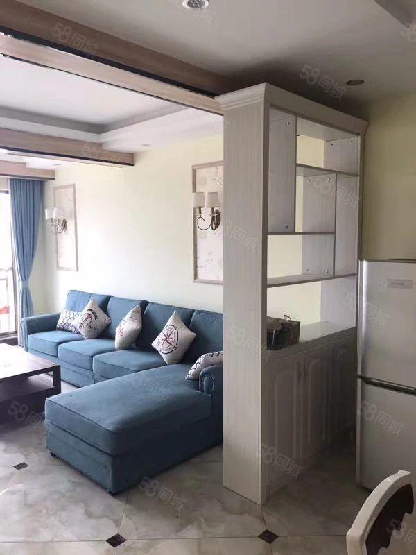 出租龙里城上城精装2室2厅家具家里齐全,租金1700元