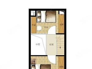 49平实用面积85平,全款只要42万,2室2厅2卫,户型方