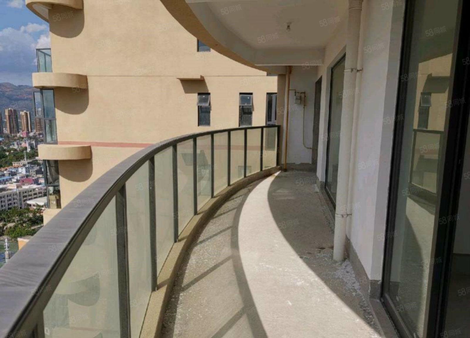 銘城瀾岸近20平米陽臺戶型方正大氣三室兩廳