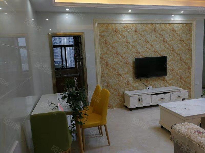 苏河尚品小区有房出租,拎包入住家具齐全!
