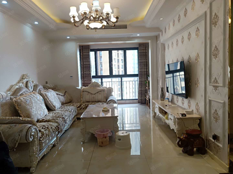 广安枣山帝谷公园城一期,小高层精装修全品牌家电,可按揭可看房