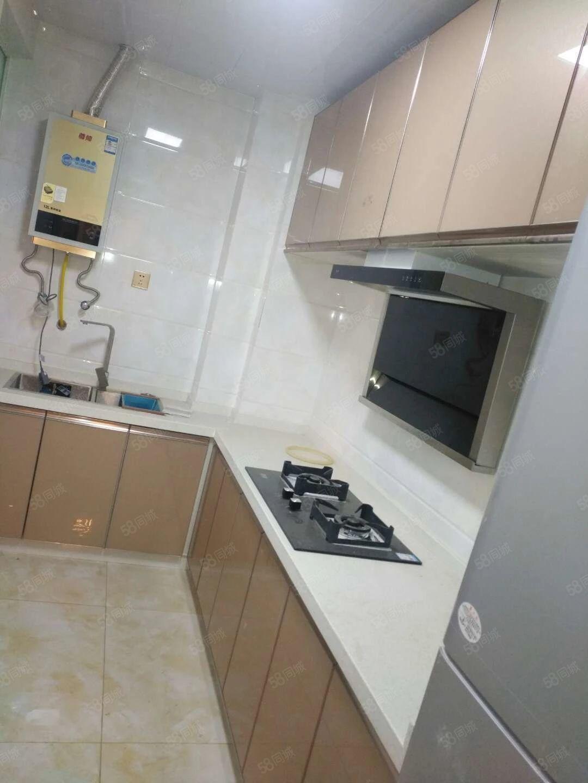 奥泰克一期三室两厅精装修家具家电齐全拎包即住有三个空调