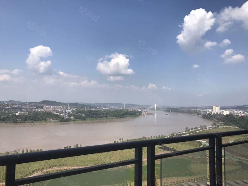 一线江景房电梯小高层看江带大花园无敌视野