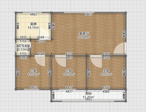 满五唯一住房税低!三室朝阳,二楼!带小平房69万