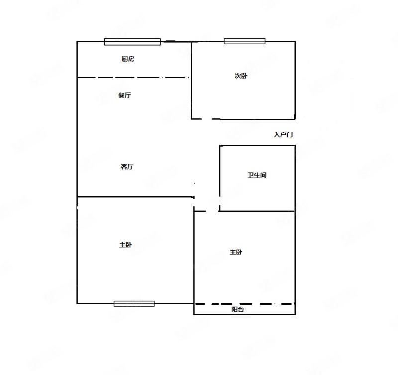 麗景苑三室兩廳戶型大精裝修帶閣樓儲藏室