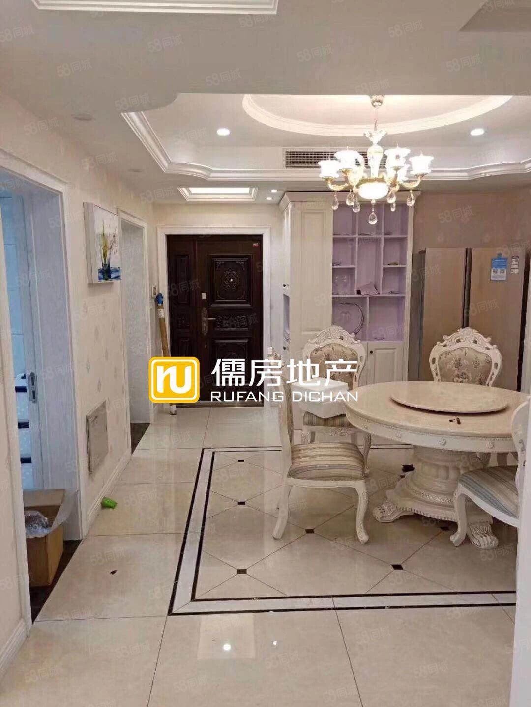 水上国际花城豪华装修准新房没有住过4室2厅2卫一线品牌家居