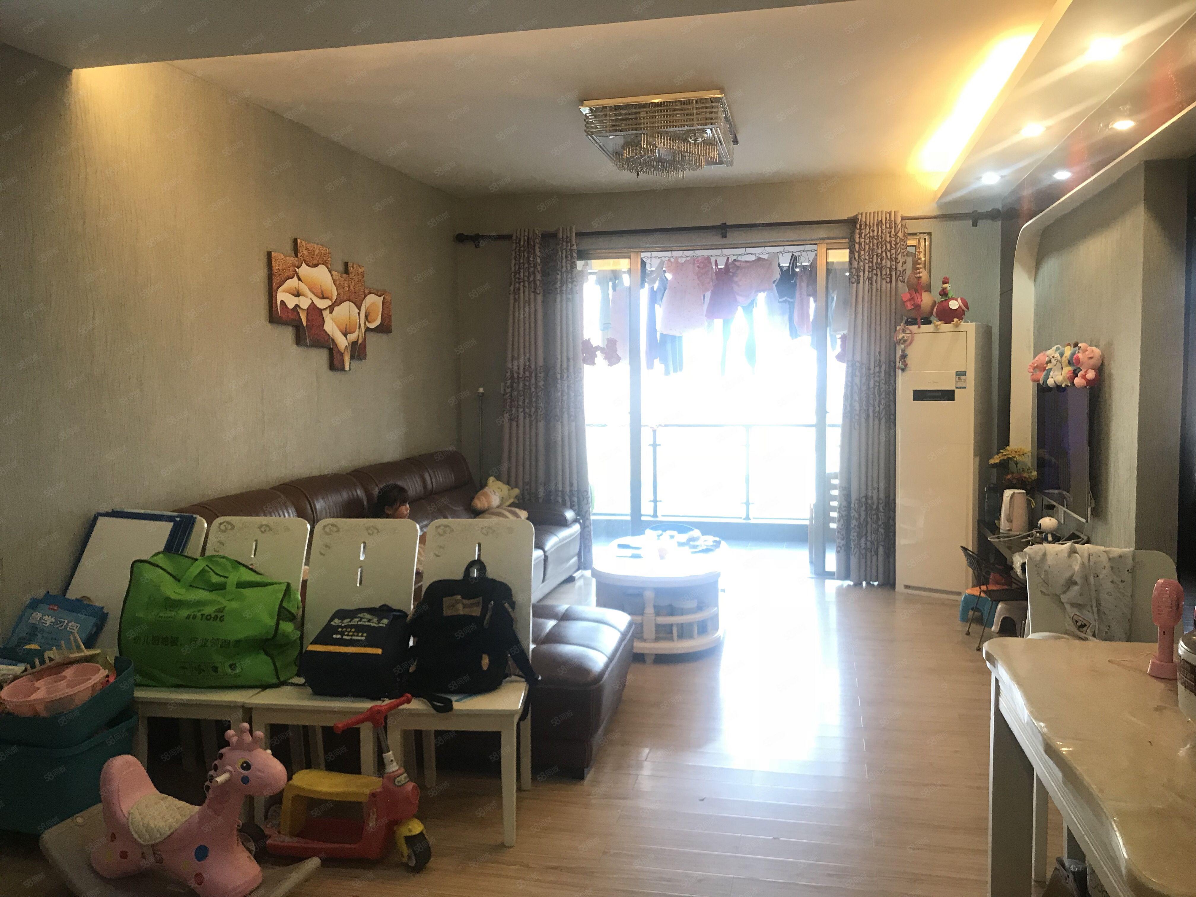 官山御景电梯中高楼层全屋精装拎包入住朝南户型证满两年