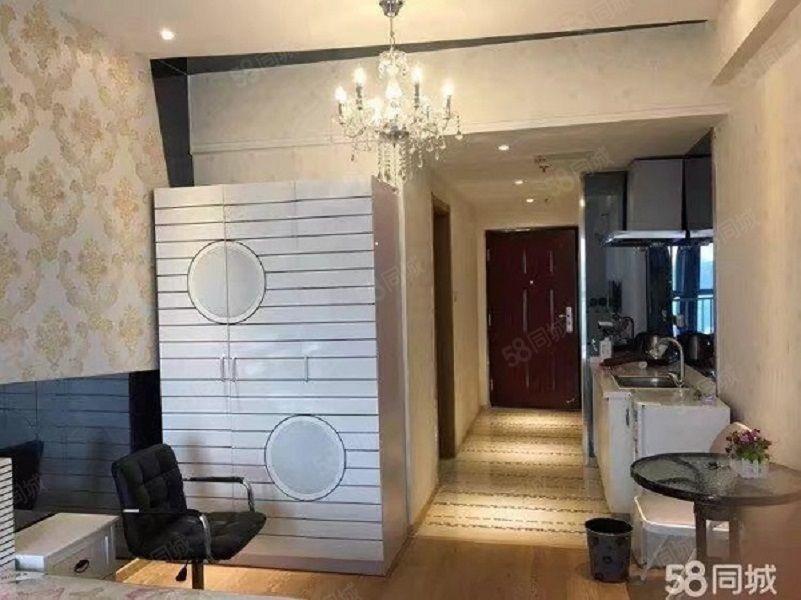 吾悦公寓精装12楼湖景房45万拎包入住带出租