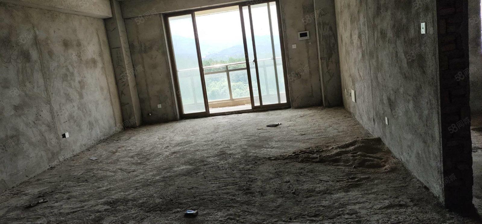 杭鑫汇景电梯高层4房南北朝向阳光视野无遮挡毛坯房