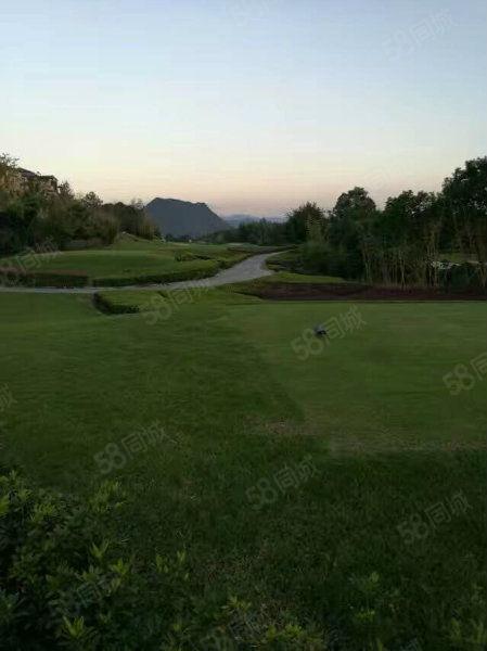 世界高尔夫球场一线景观别墅,精装修赠送100平超大面积花园
