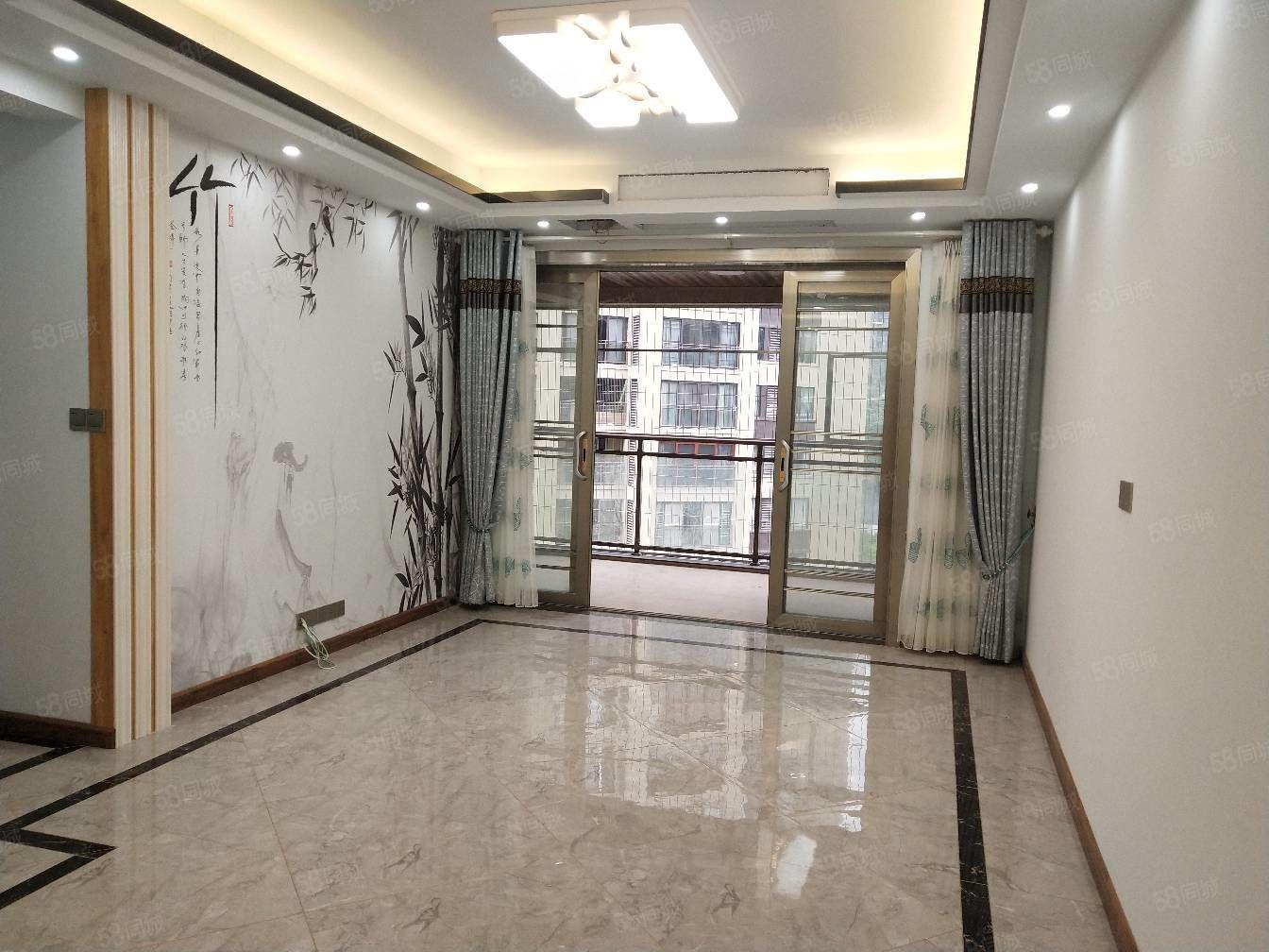 两江未来城二期精装三房全新家装未入住!