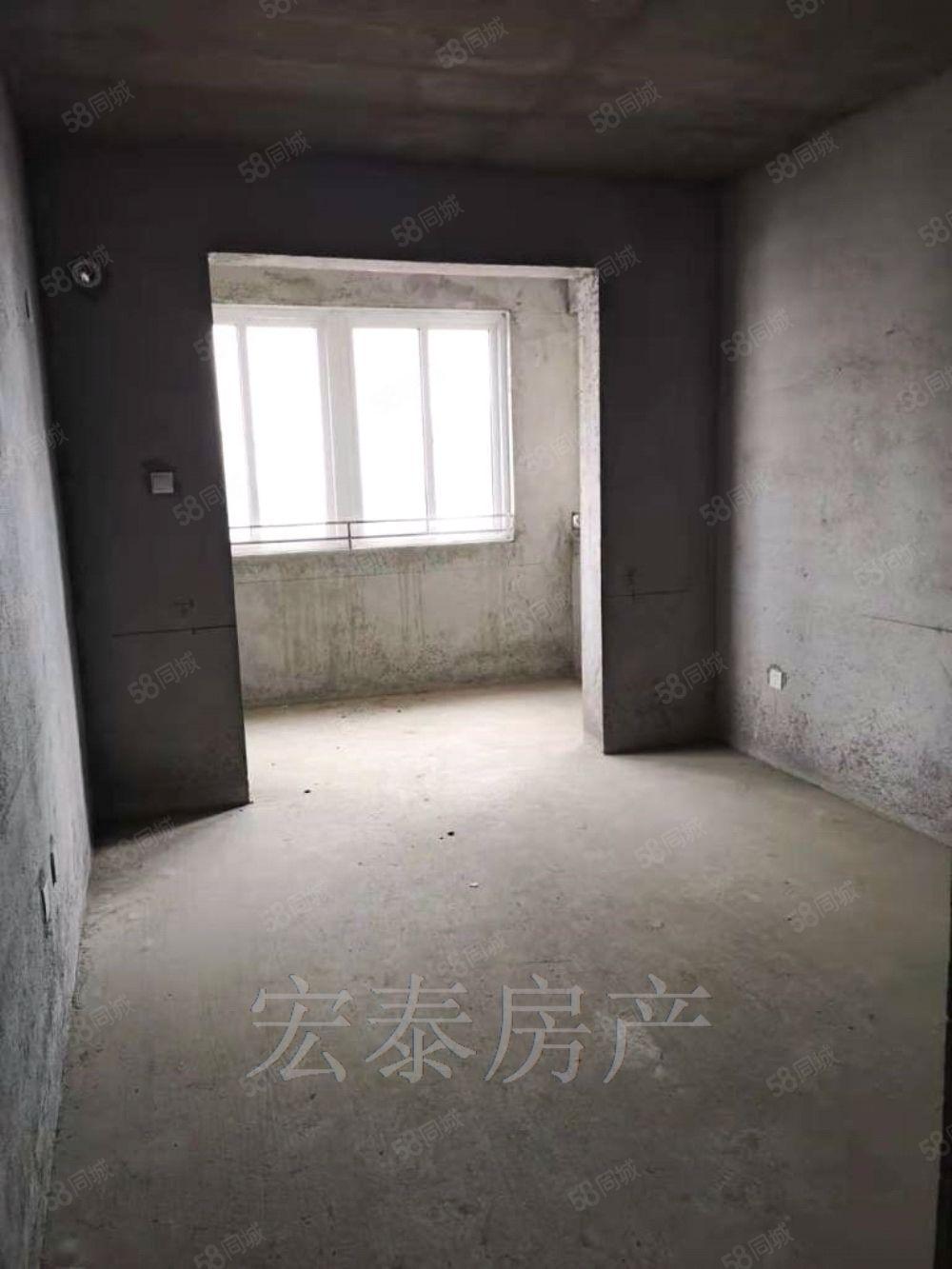 出售漢城國際二期,毛坯19樓3室89平,55萬商品房可分期