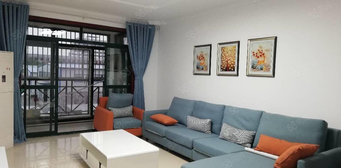 新二中清华苑隔壁众德祥福园多层3楼,88平米精装