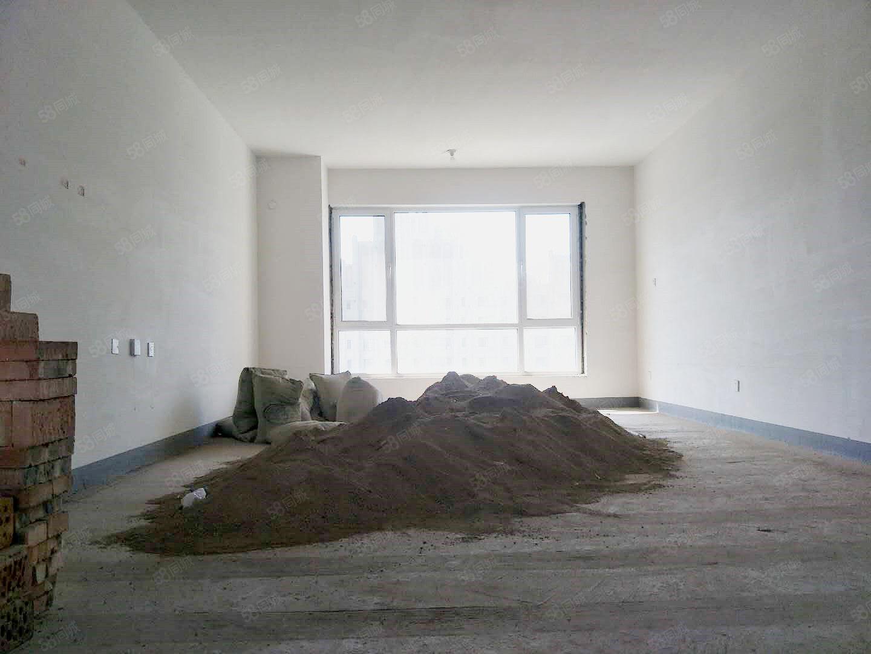 新华联广场3室2厅2卫毛坯无税南北通透