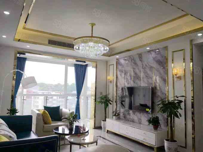 龍城國際4樓3室92平全新精裝贈送家具家電甩賣一口價66萬