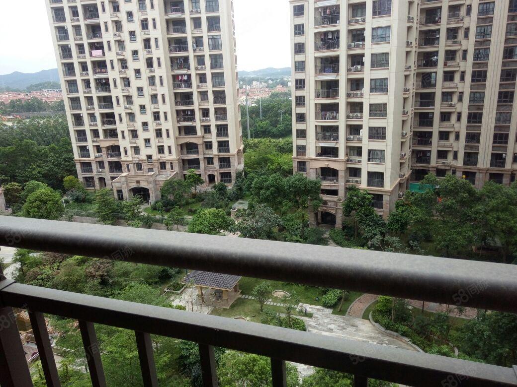 广博峰景133方中层向南向花园证过2年仅售73.8万