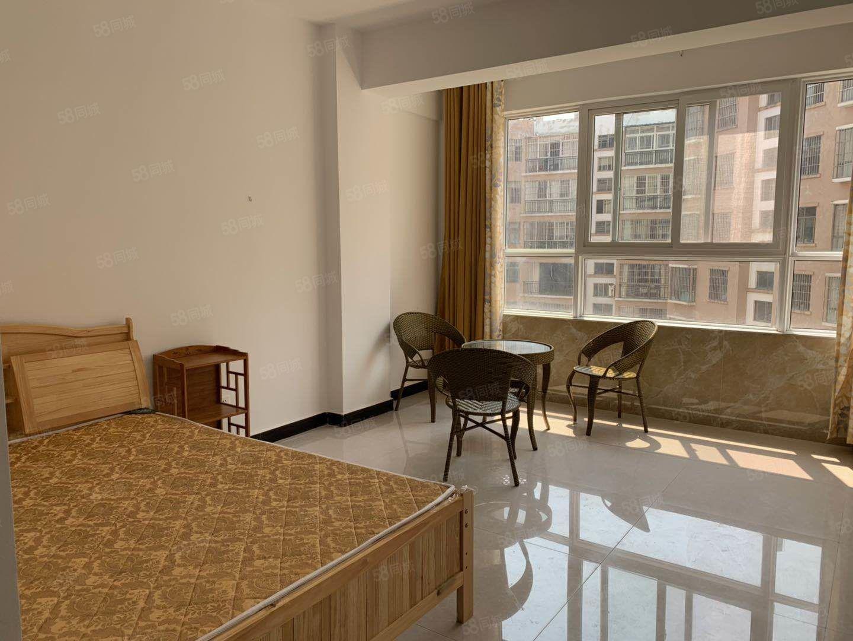 学苑花园南部小区内全新公寓拎包入住采光好!带洗衣机!