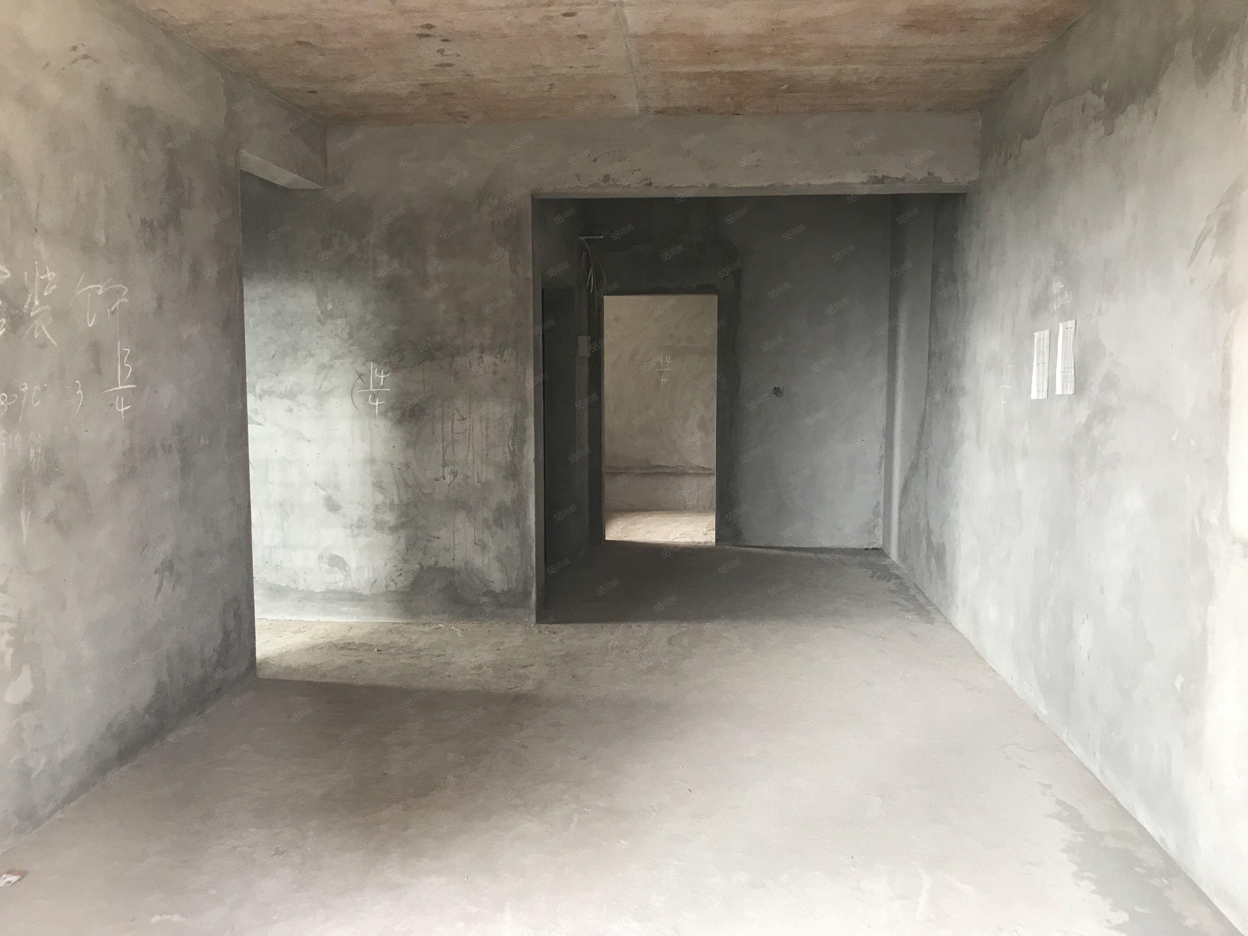 城西电梯房两室两厅清水房送入户花园户型超正