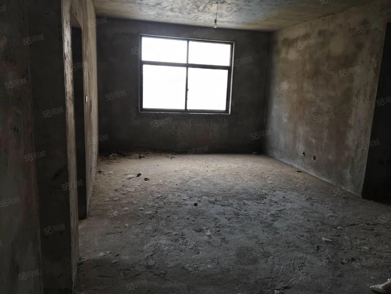 滨河花园4楼123平毛坯大三室上学方便送20平地下室!