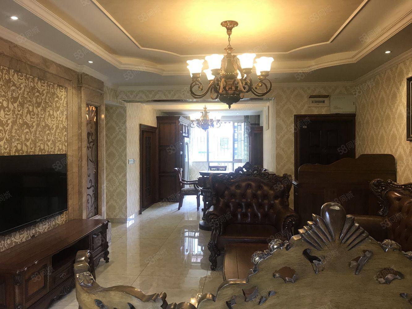 泊林郡豪华装修全实木家具家电齐全3室2厅2卫
