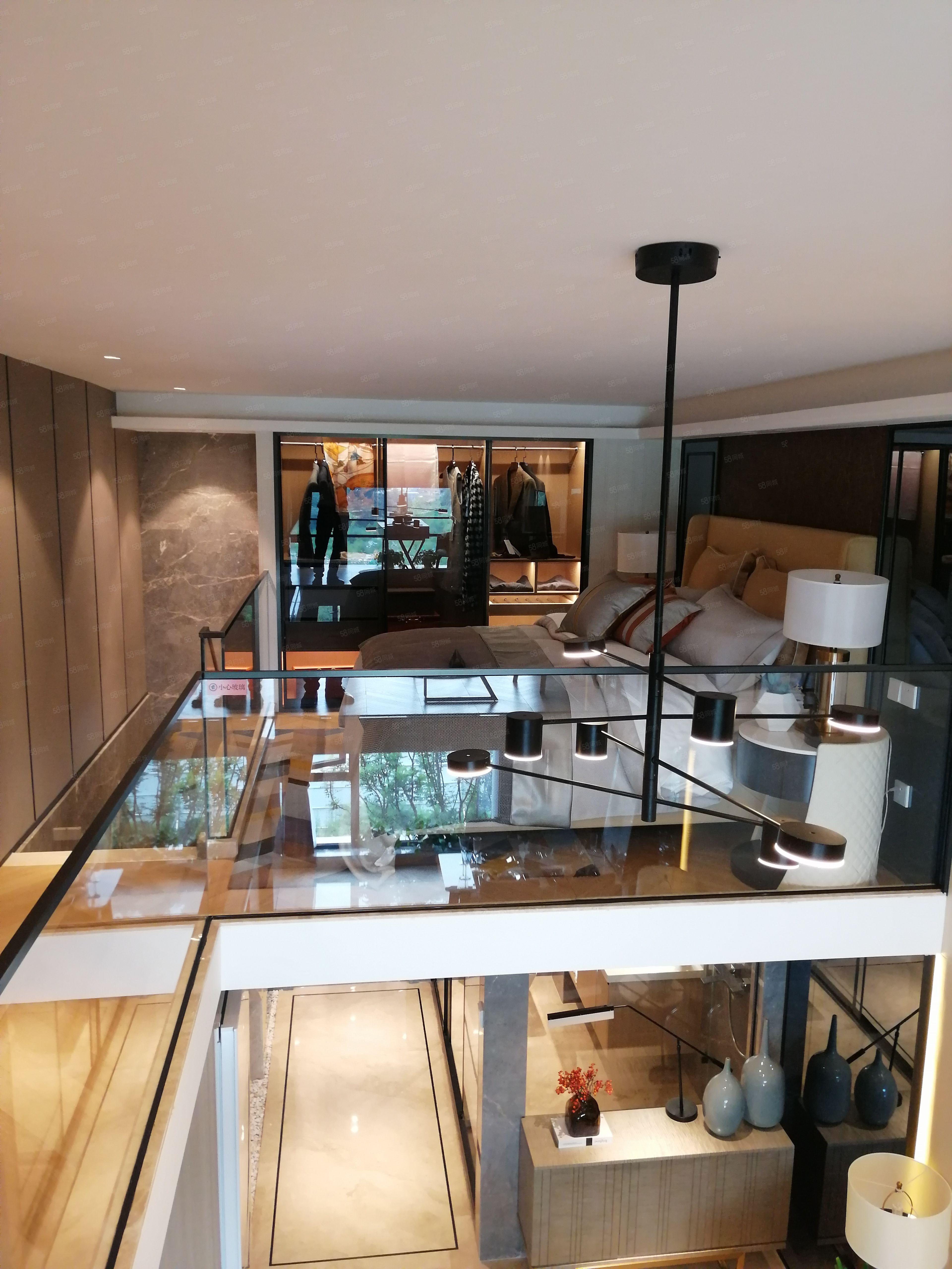 實得70平4.2米層高躍層loft公寓地鐵口商業配套