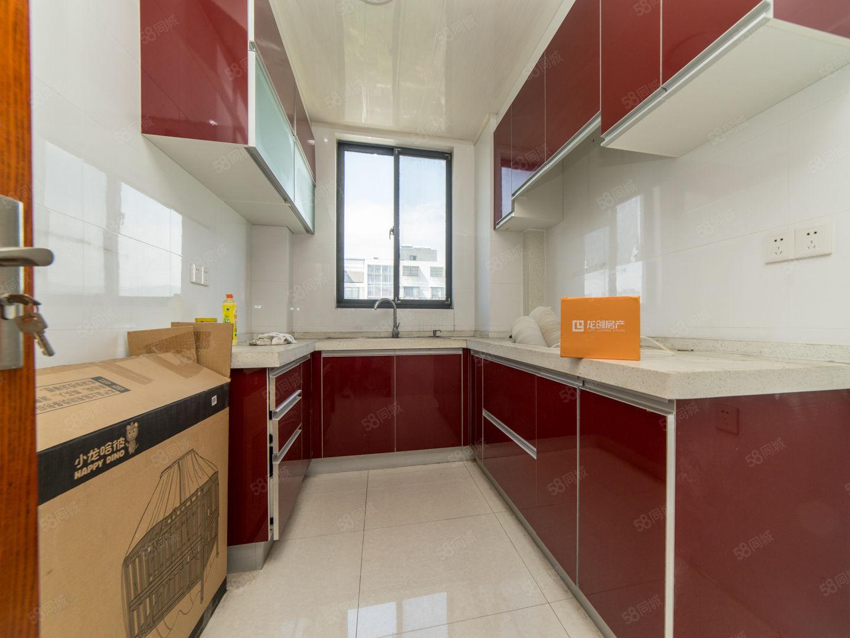 梁湖南苑电梯精装两居室南北通透价格面商