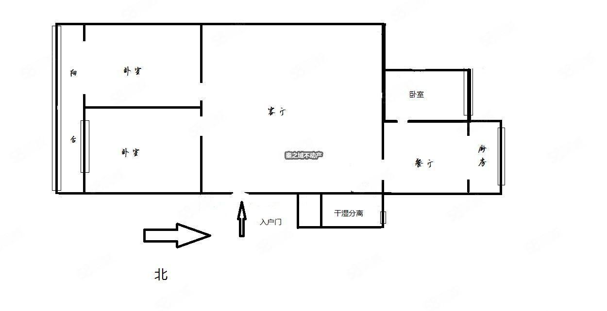 惠民路留园公司惠名小区经典三室无大稅可按揭