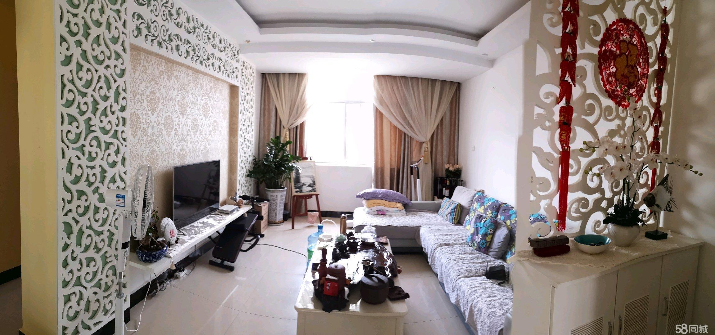 80平方米2室2厅小户型精装修