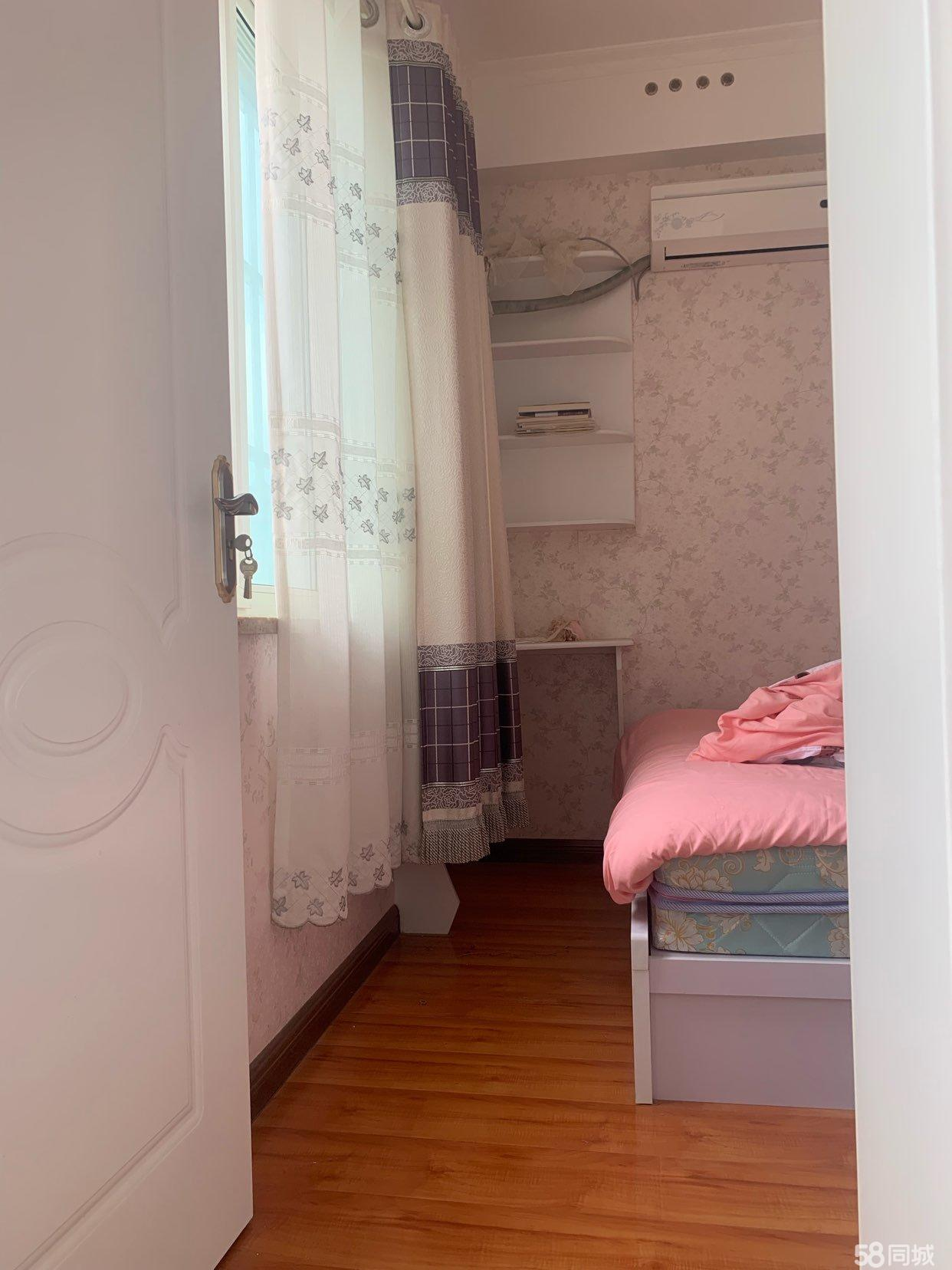錦繡苑精裝房,二室一廳一衛,家具家電全帶,急售