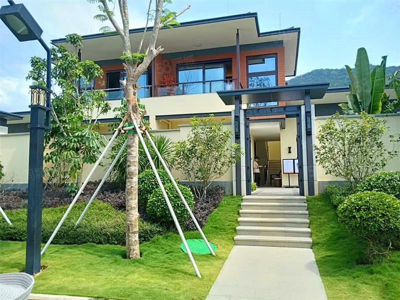 一线海景独栋别墅(兴隆|华润石梅湾九里)私家花园,总价低