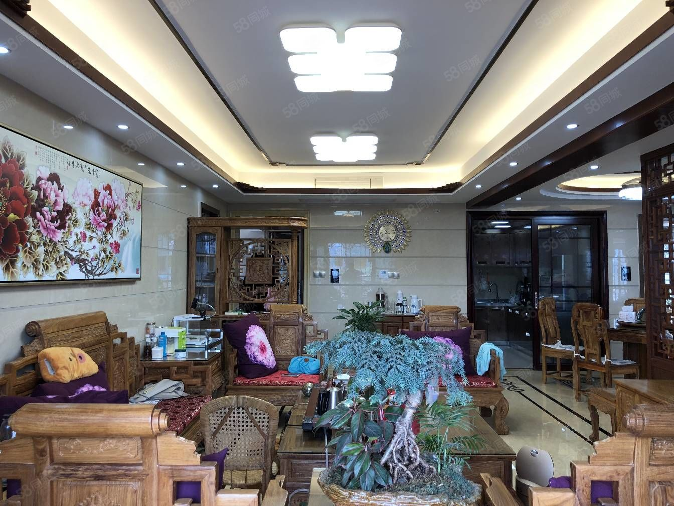 江南奧園半島電梯6樓,4房2廳2衛
