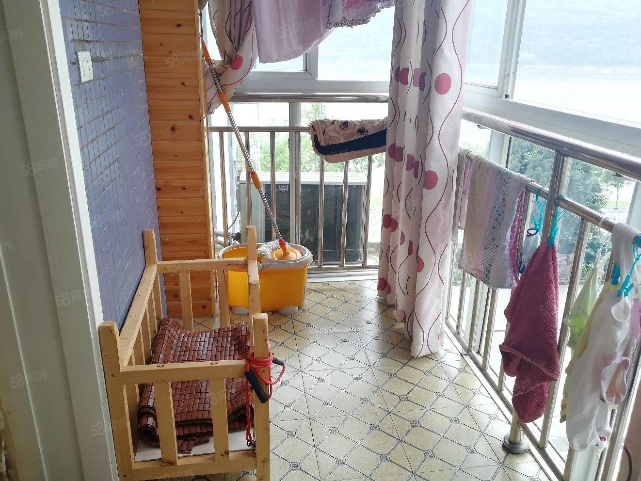 缘梦花园精装2房2厅一卫,拎包入住,看长江