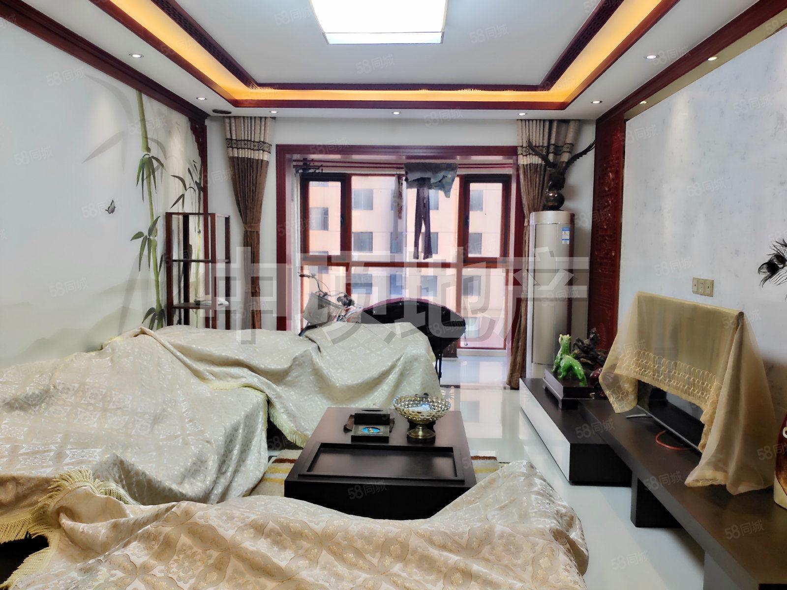 金海明月新上豪华新中式装修三居室 家具家电都是品牌的