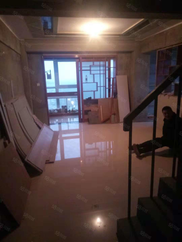 万达旁东景国际稀缺复式半装修3室税满可按揭仅售55万