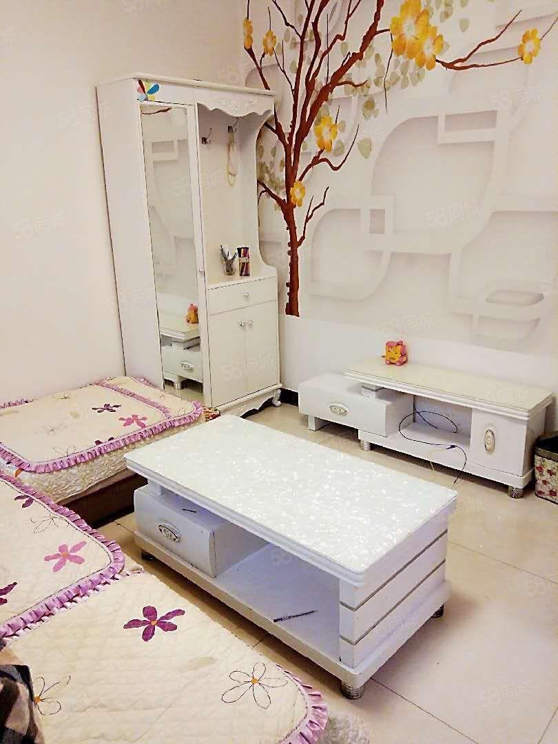 北环三塑宿舍往外出租,二室一厅,带全部家电家具,拎包入住。
