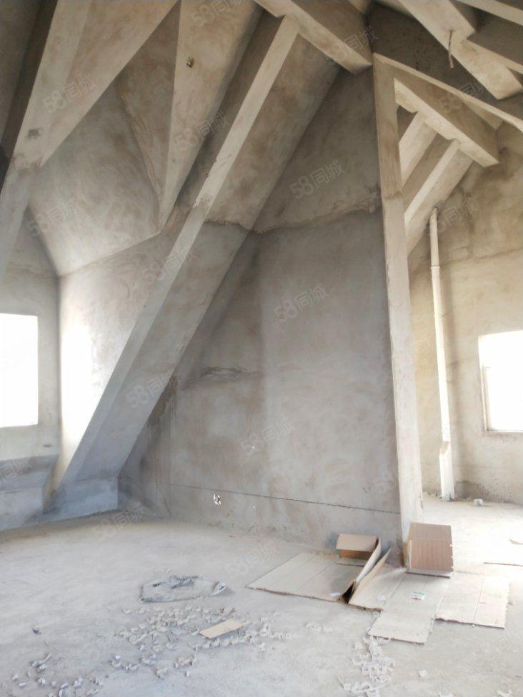 召陵区政府附近汾河上的院子三室毛坯送80平大阁楼