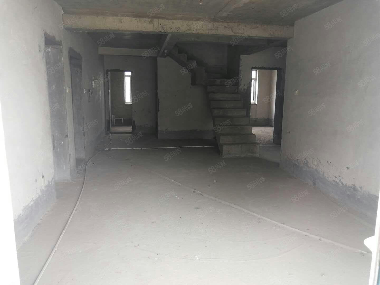 高铁站御府苑小区6楼加7楼复式内置楼梯可贷款卧虎山
