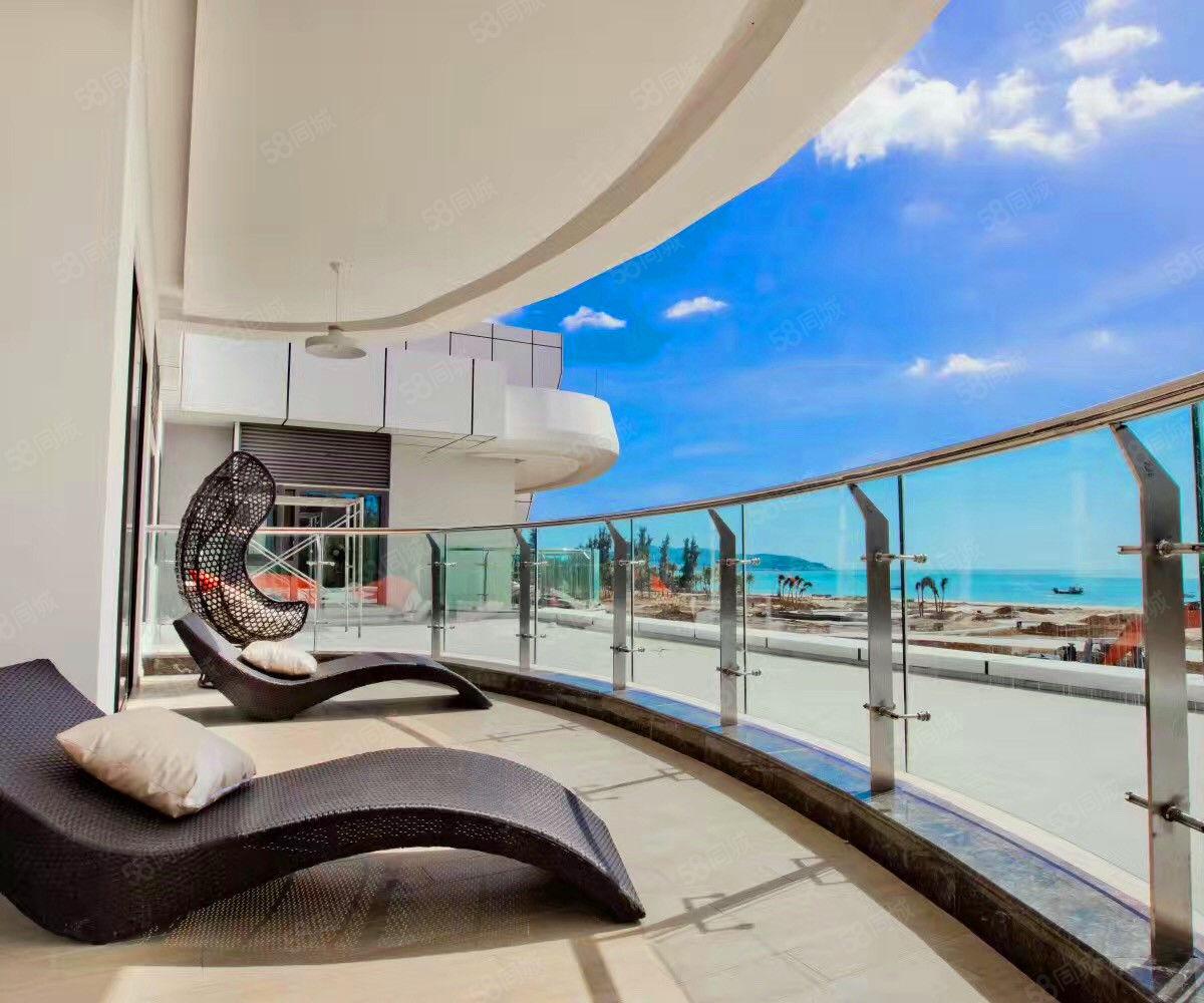 急售!一線海景精裝兩房僅60萬!北部灣一號高端品質純板樓