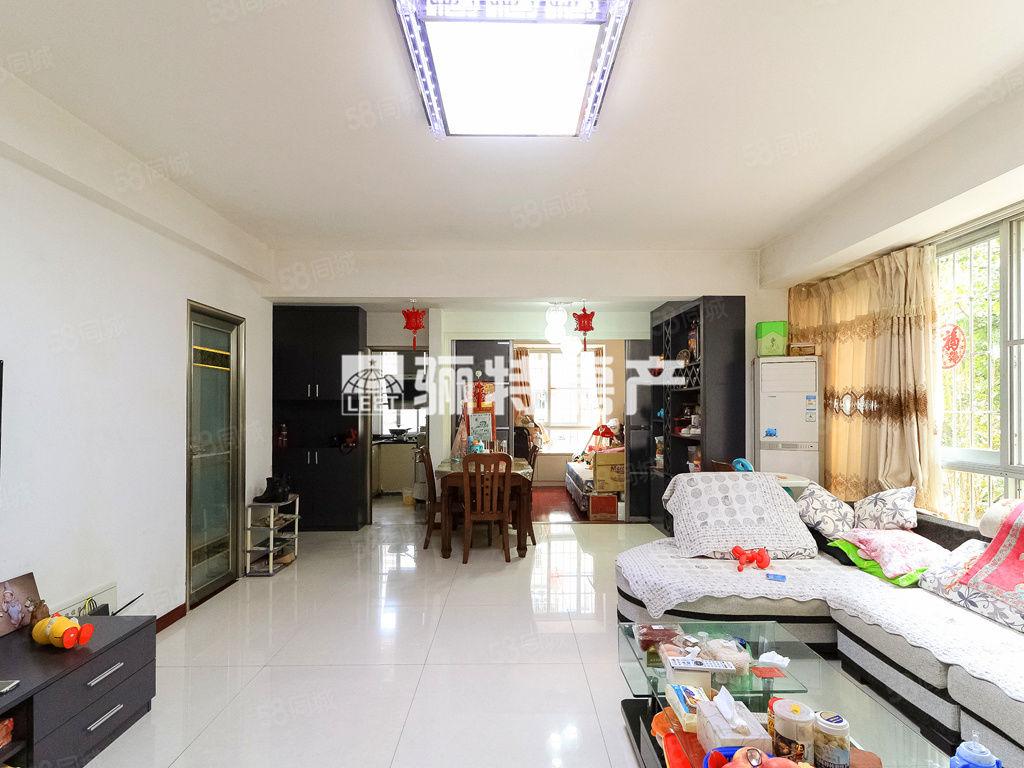 南江濱旁5號地鐵馬榕小區三房兩衛精裝修端頭