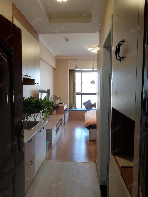 繁華市中心漢錦城單身公寓精裝修房東出稅隨時看房