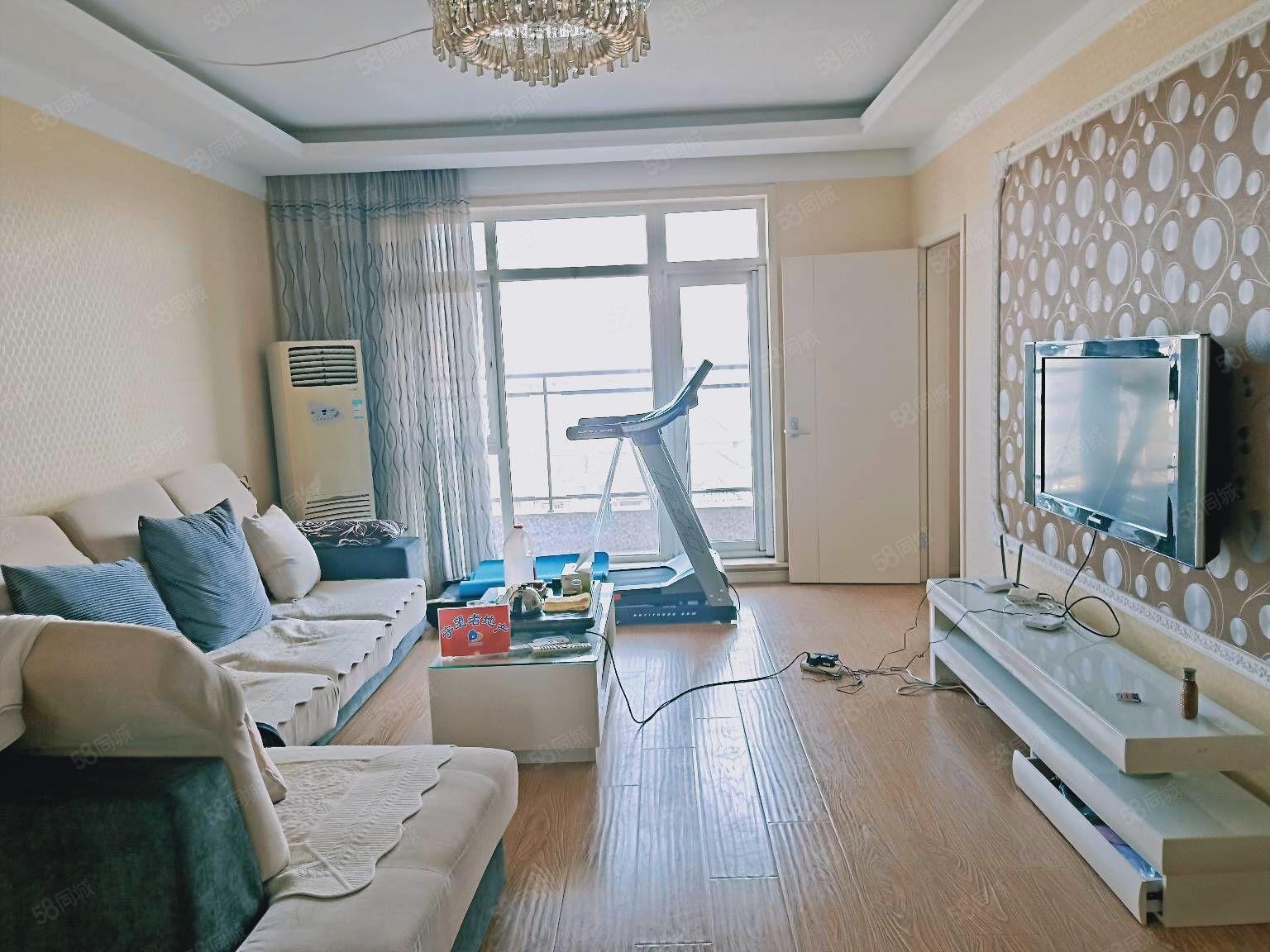 现在风格简约欧式装修南北通厅3室2厅1卫大三室拎包就住