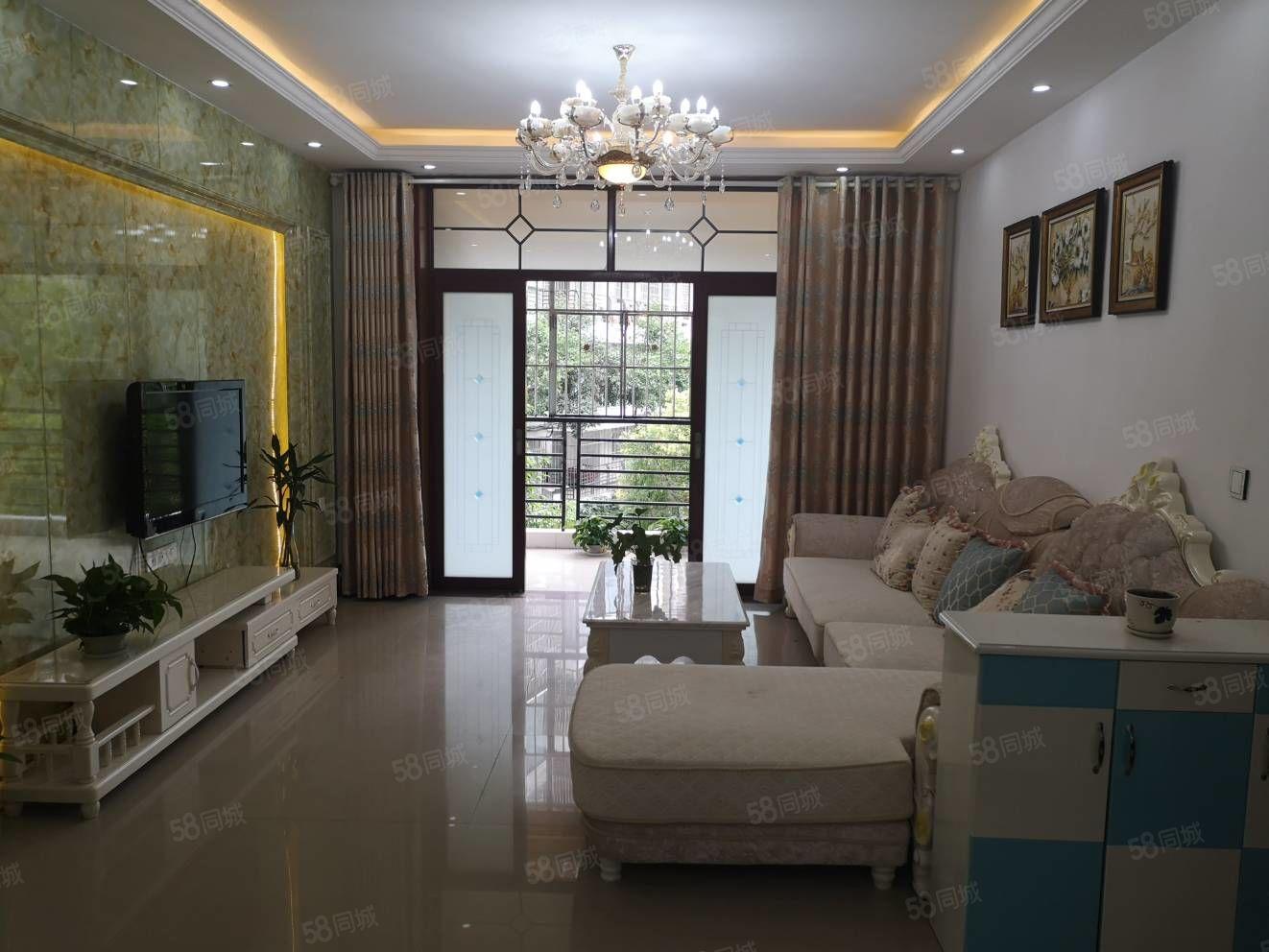 蓬城印象现浇房2楼精装修3室带双阳台家具家电齐全可按揭