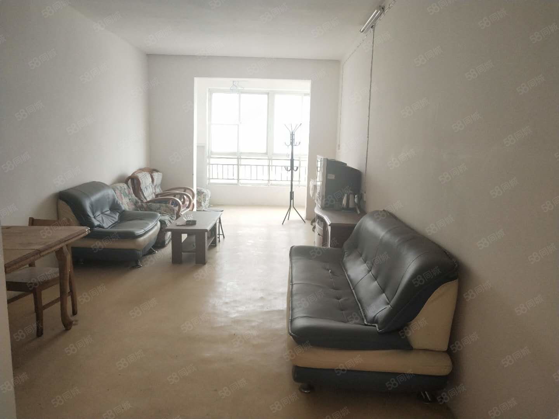 机场旁新苑小区中层大两室毛坯房可贷款大产权