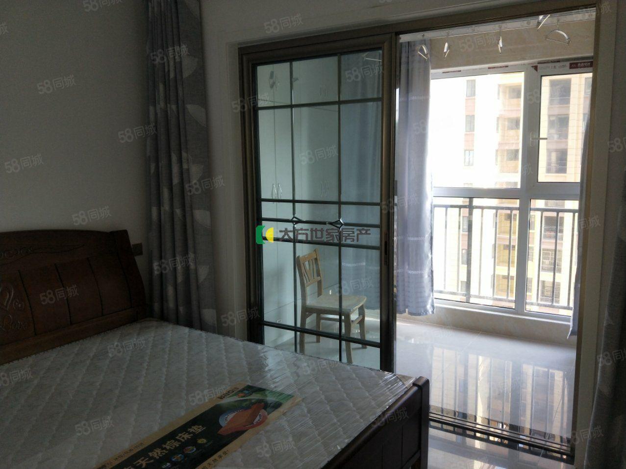 龙汇学源居两室一厅精装拎包入住家具家电齐全1100/月