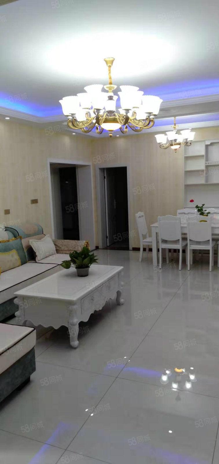 中环路四室两厅两卫两阳台,清水房精装修,家具家电全新
